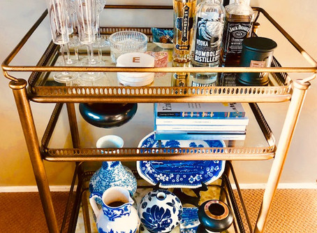 Everything Home . . . The flexibility of a Bar Cart