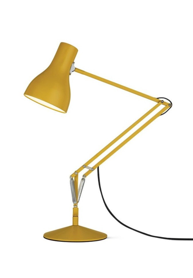 Type 75 Anglepoise Desk Lamp Yellow Ochre
