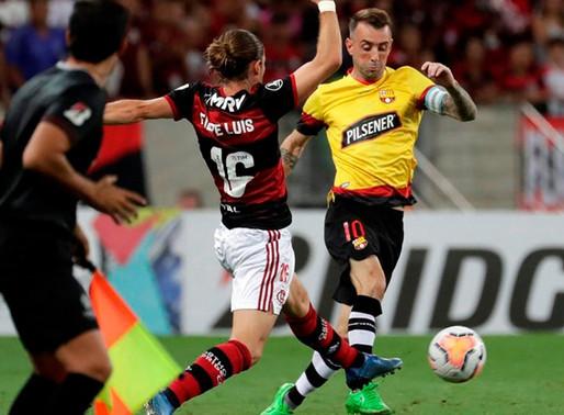 Flamengo con muchas bajas visita a Barcelona