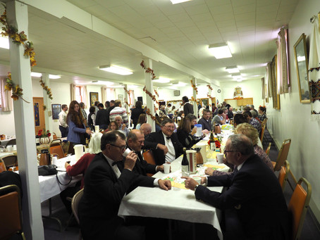 Reception for the Most Reverend Bishop Benedict Aleksiychuk