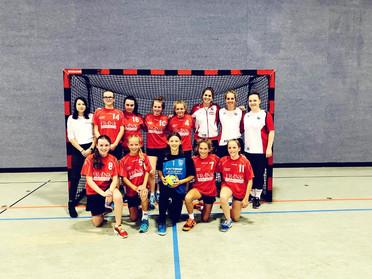 C- Jugend Mädels gewinnen souverän das erste Saisonspiel