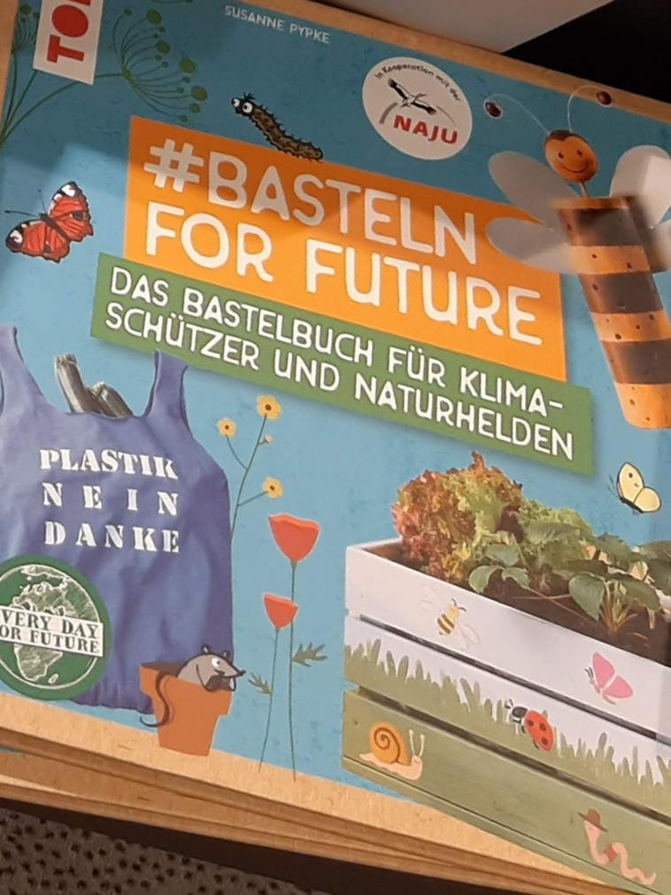 Buchcover: #basteln for future