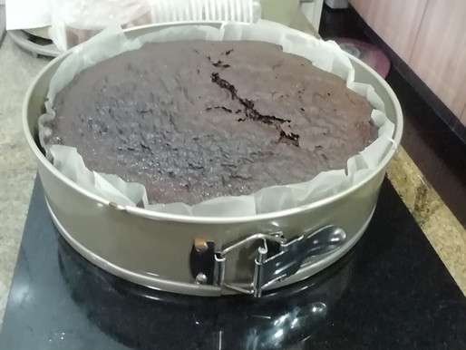 My first chocolate cake