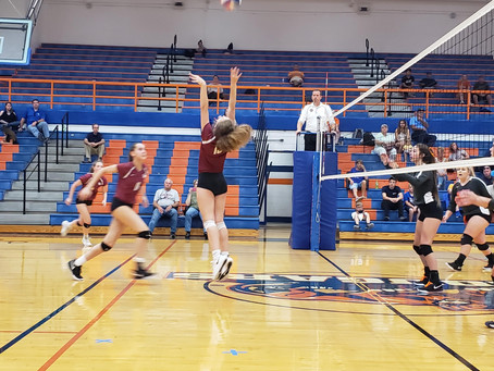 Lady Wildcat Volleyball tops Campbell County Lady Cougars