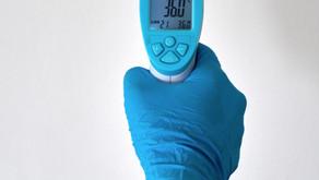 COVID temperature check with  CDHN