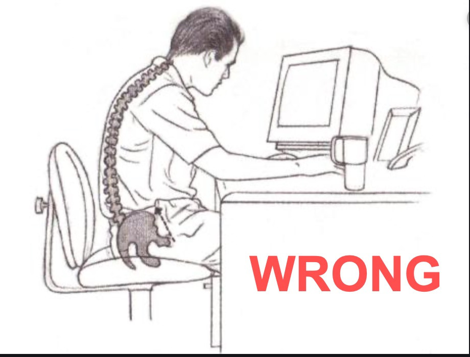 Proper Sitting Position at Computer for Neck Pain Relief and Shoulder Pain Relief Treatment and Tips, Wyckoff, New Jersey, Skyline Physical Therapy