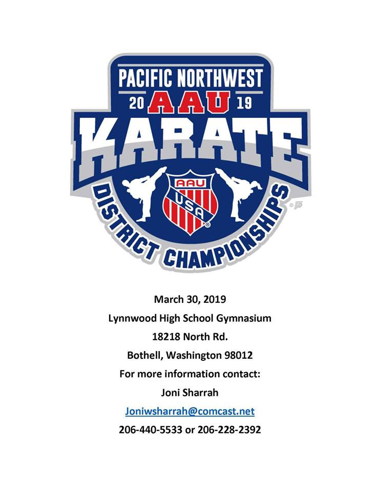2019 PN AAU Karate District Championships