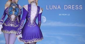 Luna Dress for Skyrim LE