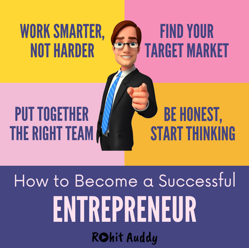 How to Become a Succesful Entrepreneur ??