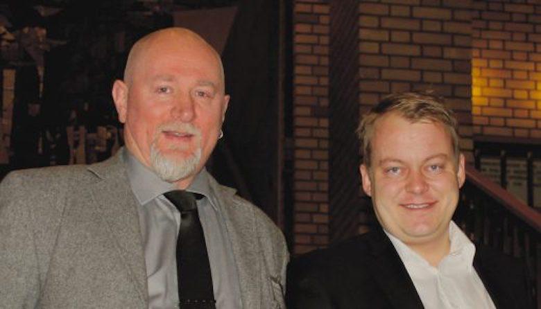Redaktør Jan Inge Iversen (til venstre) , Jan Inge Iversen, sier han slett ikke er overrasket over denne utviklingen i norsk rettsapparat