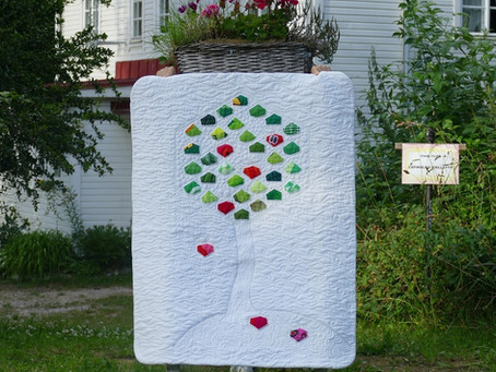 Hexie Tree Quilt Pattern Release