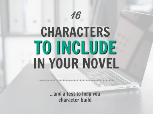 16 Types of Characters to Use in Your Novel (and a test to help you character build)