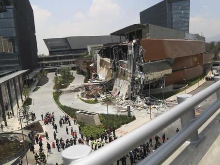 ¿Ya viste la aparición del derrumbe en Plaza Artz?