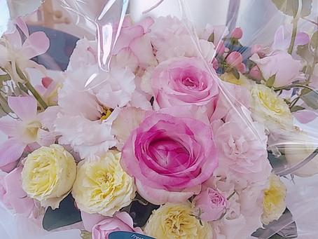 素敵なお花のプレゼント