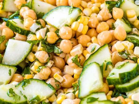 Chris's Fiesta Chickpea Salad