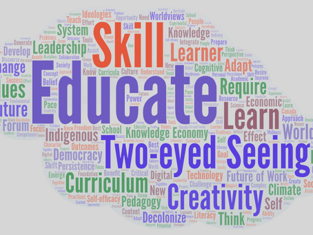 FROM THE BEFORE TIMES TO THE NEW NORMAL: KNOWLEDGE FOR THE FUTURE, IMPLICATIONS FOR CURRICULUM