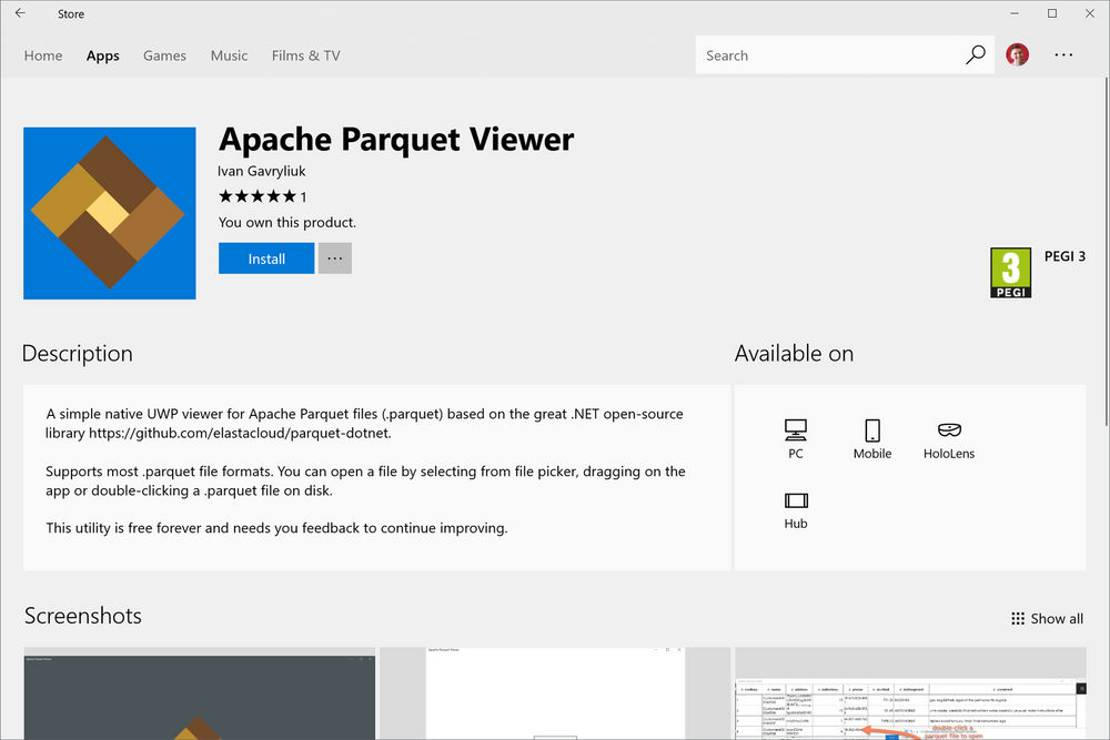 How about viewing Parquet files? | Elastacloud Channels