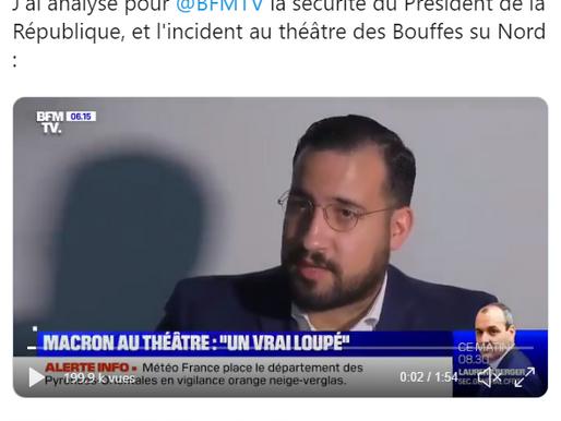 Alexandre Benalla : la stratégie médiatique de l'insolence.