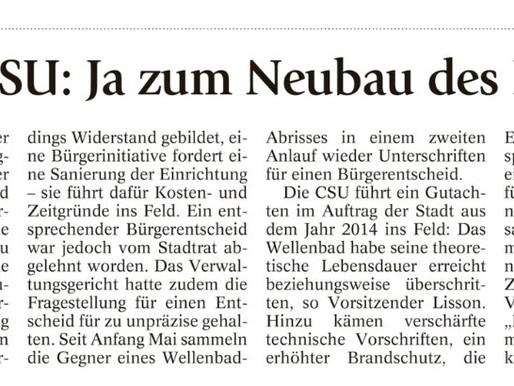 Penzberger Merkur: Ja zum Neubau des Familienbads