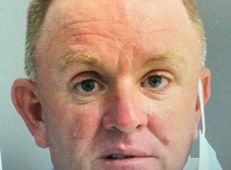 Paul Tyus turns himself into authorities after he is charged with falsifying election petition.