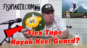 Can Flex Tape be used as a keel guard?