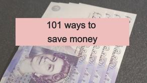 101 ways to save money