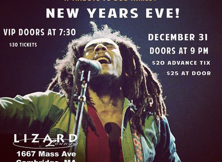 Bob Marley Tribute On NYE!