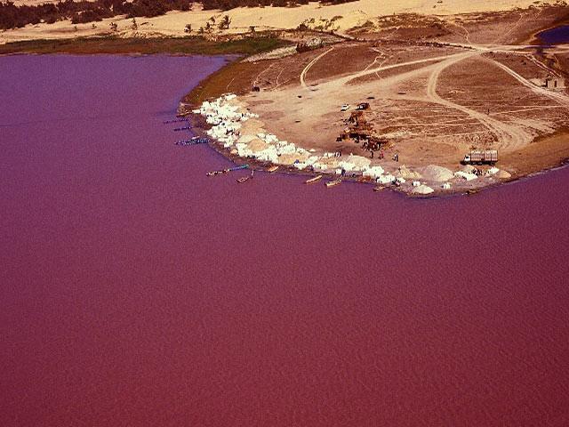 Lac rouge sénégal
