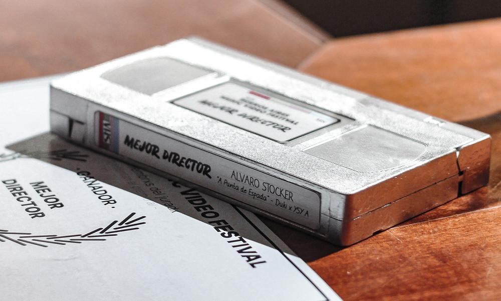 Premio Cassette BAMV FEST, mejor director Alvaro Stocker