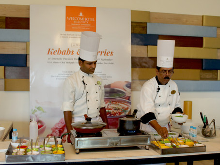 "Panchkula's Bella Vista hosts ""Kebabs and Kurries"" food festival"
