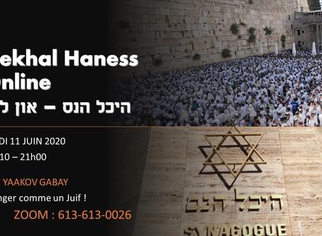11/06/2020 - Manger comme un Juif ! - Rav Gabay