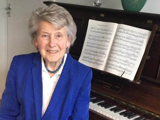 Elizabeth Wells, 2019 Curt Sachs Award Recipient