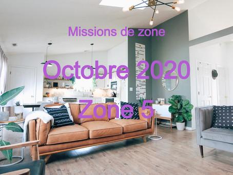 Zones : Missions semaine 44 - Zone 5