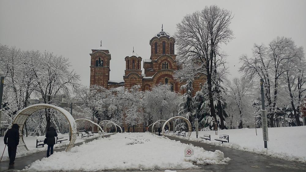 Sérvia é segura; Igreja de São Marcos, Belgrado