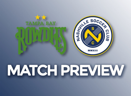 Preview: Tampa Bay Rowdies vs Nashville SC
