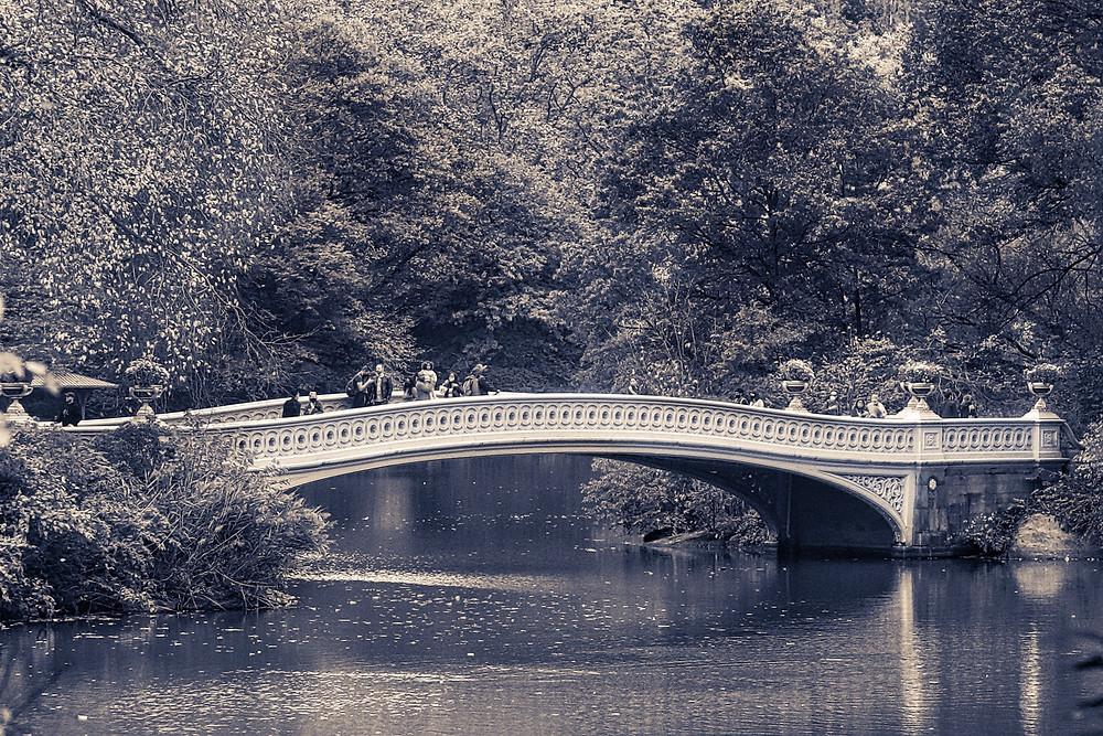 Bow Bridge NYC photo