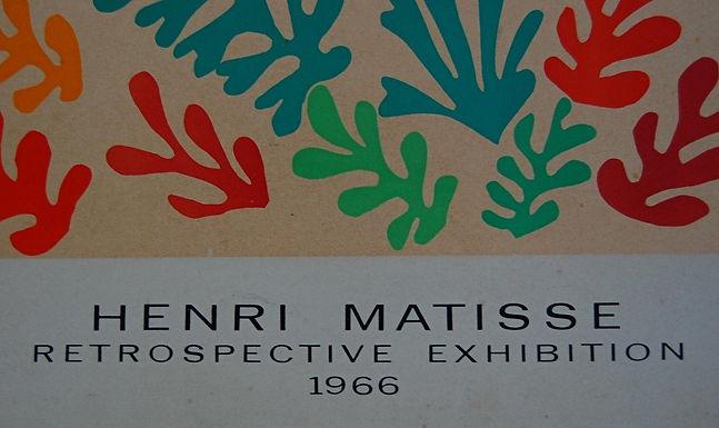 Matisse Exhibition UCLA 1966 observations