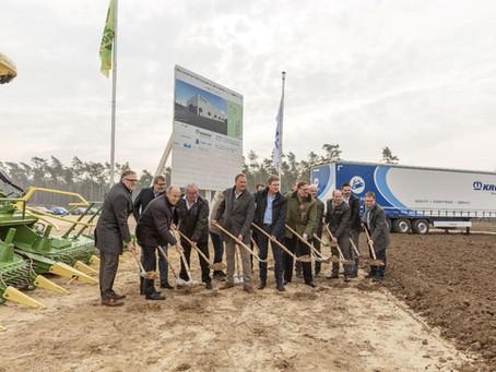 Novo centro de pesquisa da Krone começa a ser construído na Alemanha