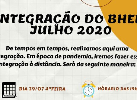 Integração Amigos do BHem 2020