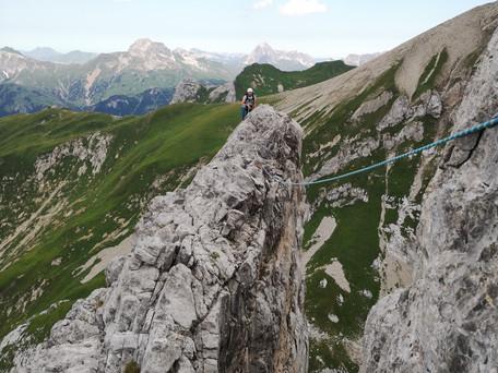 Roggalspitze Nordkante