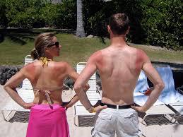 sunburn, triathletes