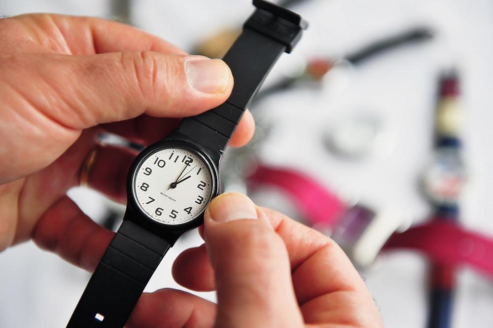 montre , changement d'heure,