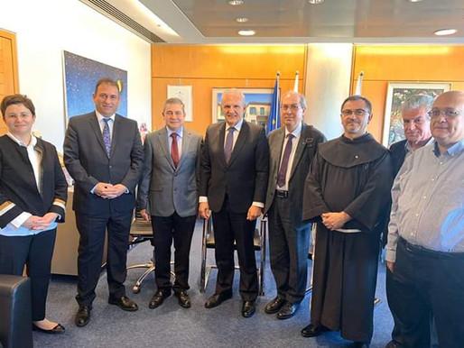 Συνάντηση με τον Πρύτανη του Πανεπιστημίου Κύπρου