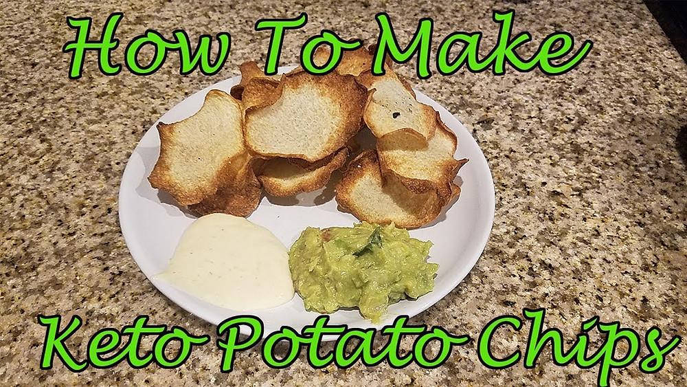 Keto Potato Chip Recipe