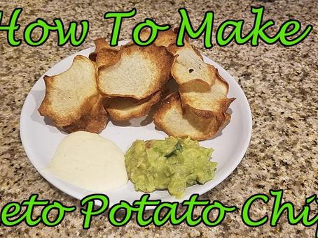 """Keto """"Potato"""" Chips"""