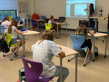 Eanes ISD Physical-Distanced Back To School
