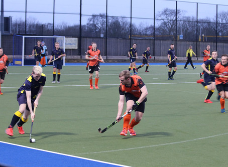 Men's 1s battle in tough top of table loss