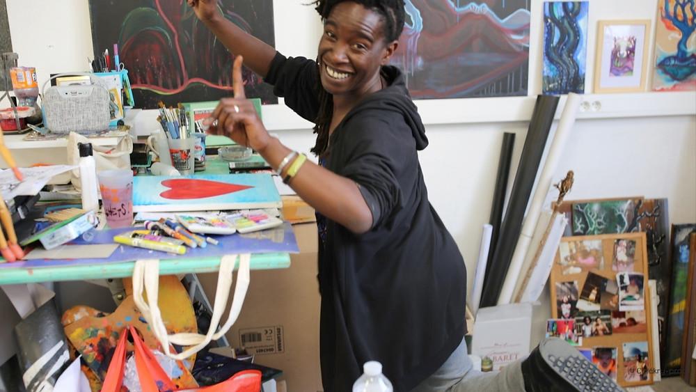 Atelier artiste Gokü Manickoh Toulouse