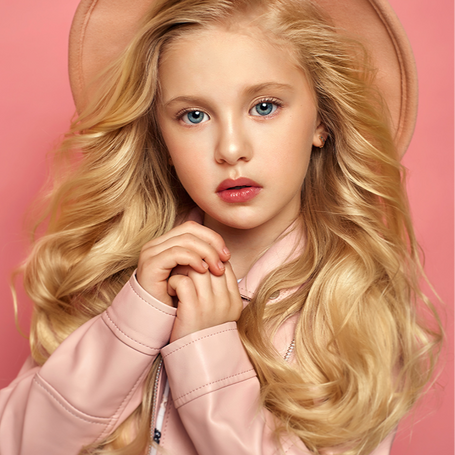 Ksenia from Russia with style. First mini-model for Rdress couture Kids&Teen collection 2021.