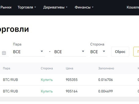 Сделка по Bitcoin (18.08.20)